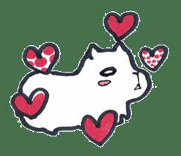 listlessly capybara sticker #9601248