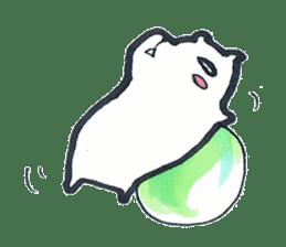 listlessly capybara sticker #9601252