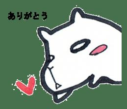 listlessly capybara sticker #9601279