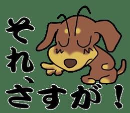 Dachshund Japan sticker #9604212
