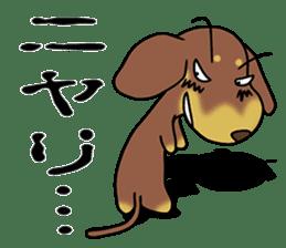Dachshund Japan sticker #9604216