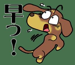 Dachshund Japan sticker #9604217