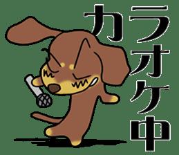 Dachshund Japan sticker #9604222