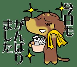 Dachshund Japan sticker #9604224