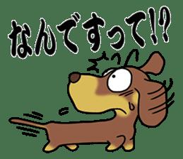 Dachshund Japan sticker #9604227
