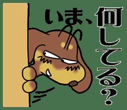 Dachshund Japan sticker #9604229