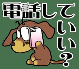 Dachshund Japan sticker #9604230