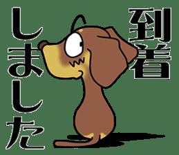 Dachshund Japan sticker #9604232