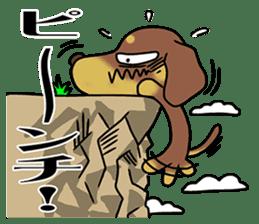 Dachshund Japan sticker #9604236