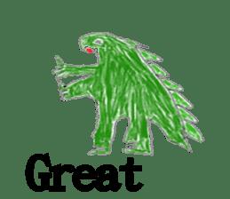 Dinosaur Life articles sticker #9604760