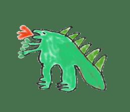 Dinosaur Life articles sticker #9604763