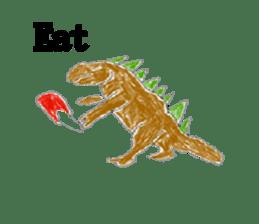 Dinosaur Life articles sticker #9604768