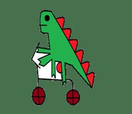 Dinosaur Life articles sticker #9604770