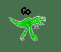 Dinosaur Life articles sticker #9604781