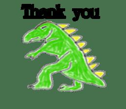 Dinosaur Life articles sticker #9604782