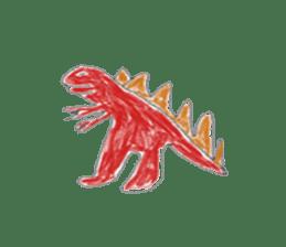 Dinosaur Life articles sticker #9604785
