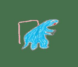 Dinosaur Life articles sticker #9604790
