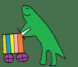 Dinosaur Life articles sticker #9604791