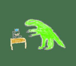 Dinosaur Life articles sticker #9604792
