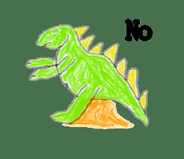 Dinosaur Life articles sticker #9604795