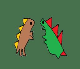 Dinosaur Life articles sticker #9604799