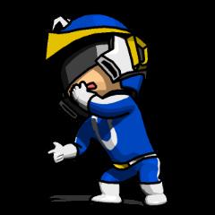 Blue Hero