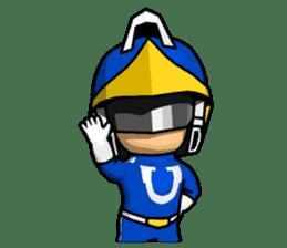 Blue Hero sticker #9606600