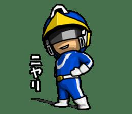 Blue Hero sticker #9606605