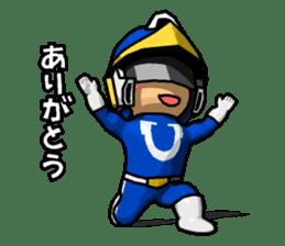 Blue Hero sticker #9606606