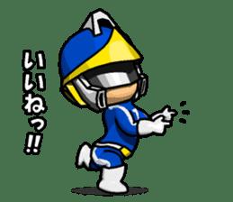 Blue Hero sticker #9606609