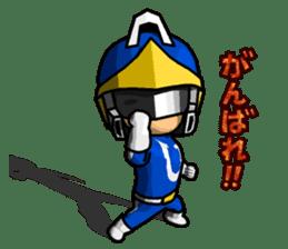 Blue Hero sticker #9606610