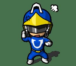 Blue Hero sticker #9606612