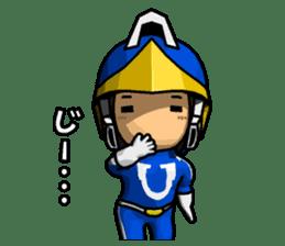 Blue Hero sticker #9606613