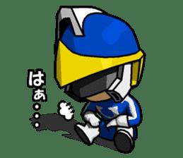 Blue Hero sticker #9606615