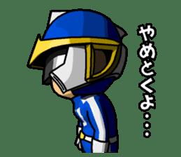 Blue Hero sticker #9606616