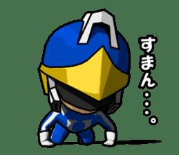 Blue Hero sticker #9606617