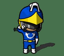 Blue Hero sticker #9606618