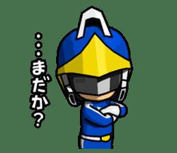Blue Hero sticker #9606619