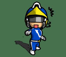 Blue Hero sticker #9606622