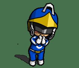 Blue Hero sticker #9606628