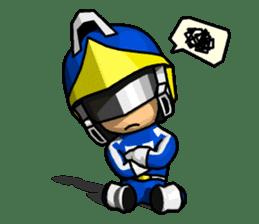 Blue Hero sticker #9606632