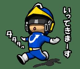 Blue Hero sticker #9606636