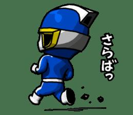 Blue Hero sticker #9606637