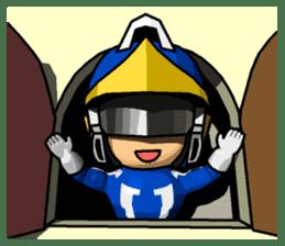 Blue Hero sticker #9606638
