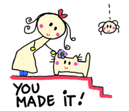 Dinkyneko & Friends #2 sticker #9608939