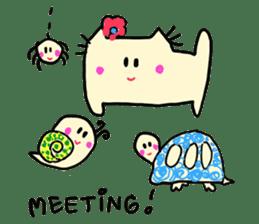 Dinkyneko & Friends #2 sticker #9608941
