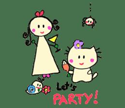 Dinkyneko & Friends #2 sticker #9608942