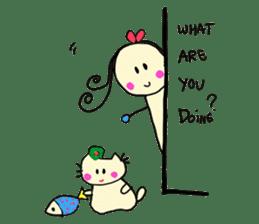 Dinkyneko & Friends #2 sticker #9608958