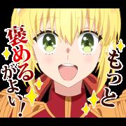 สติ๊กเกอร์ไลน์ Fate/EXTRA Last Encore
