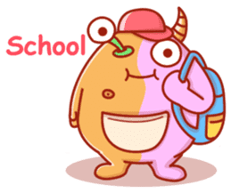 PINK KAIJYU sticker #9609603